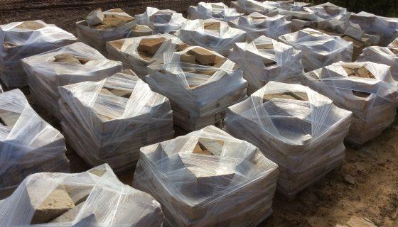 Sandstone pallets