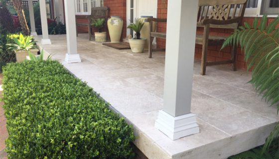 travertine pavers and tiles
