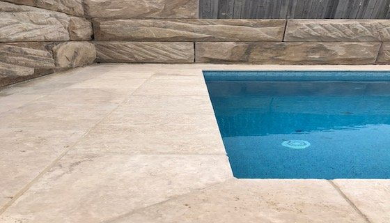 travertine tiles and pavers