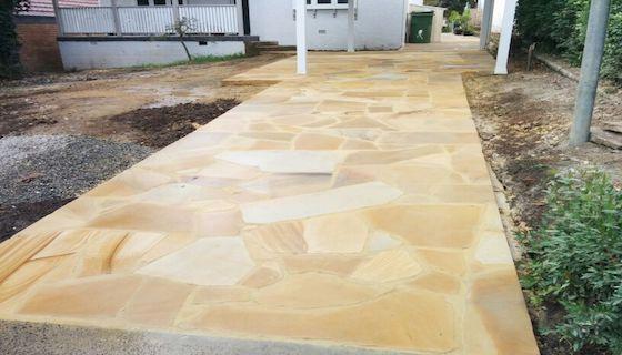 Crazy paving Sandstone Sydney